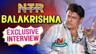Nandamuri Balakrishna Exclusive Interview | NTR Kathanayakudu Movie | NTV Entertainment