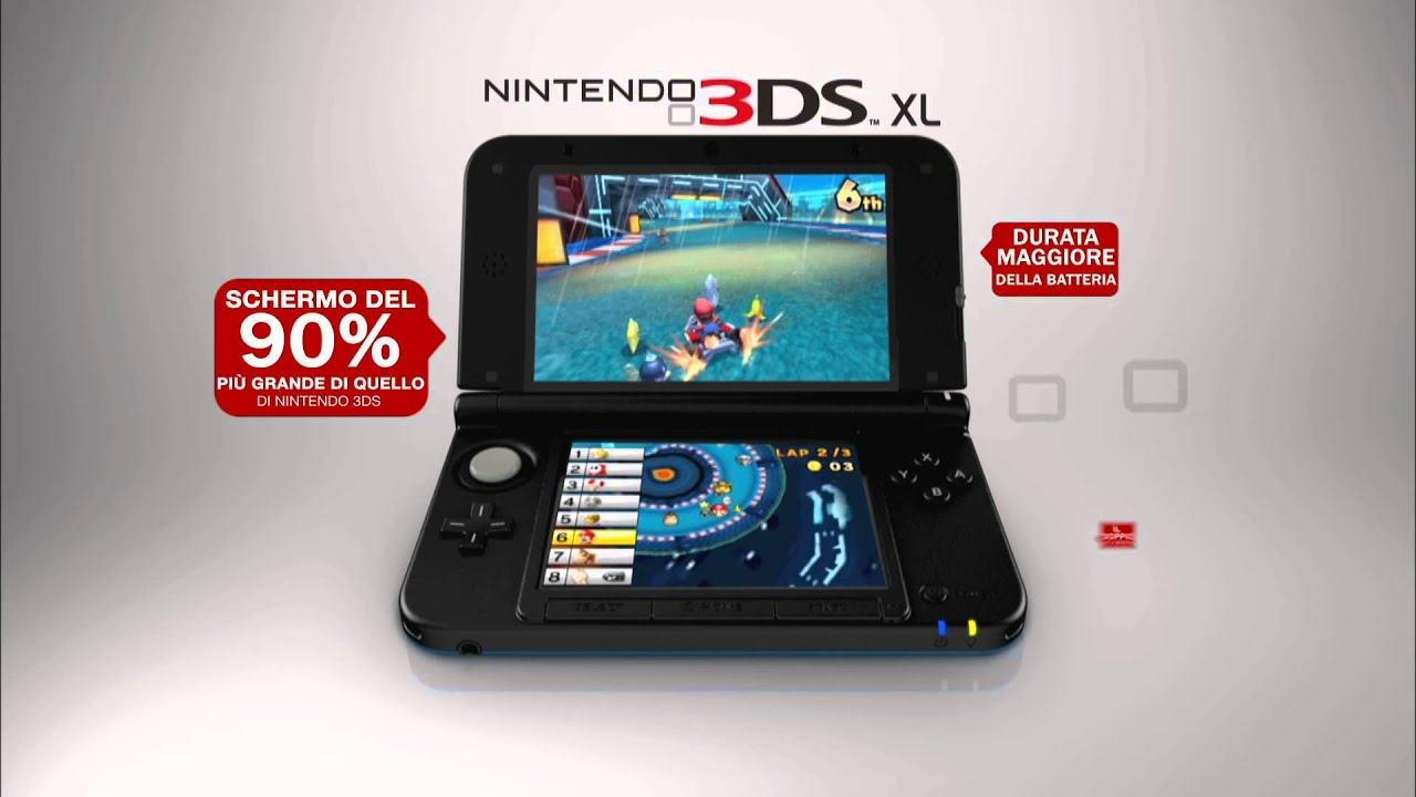 nintendo 3ds xl mario kart 7 spot tv youtube. Black Bedroom Furniture Sets. Home Design Ideas