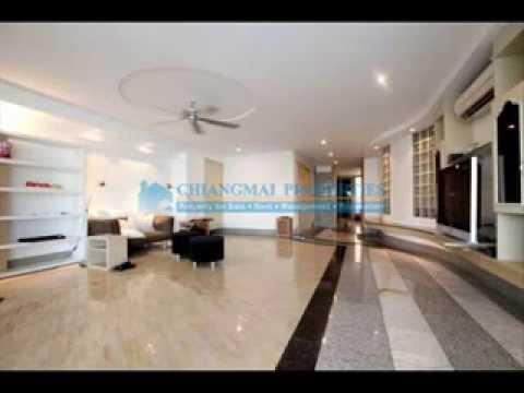 Partly-furnished 2 bed condo with 2 baths in Chiang Mai 3.8 million baht