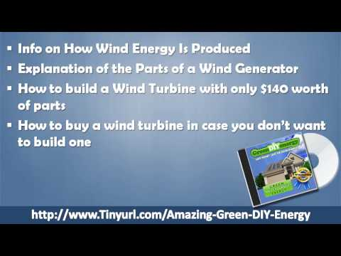 Green DIY Energy Guide - Learn How to Build Solar or Wind Power System for Your Home CHEAP!