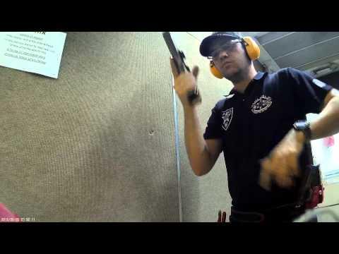 IPSC ISrael training 7-th  run CZ Tactical sport 9x19