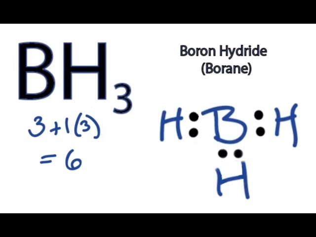Electron Dot Structure For Bh3