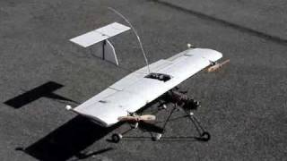 AeroVertical: VTOL convertiplane RC model research. Part 1