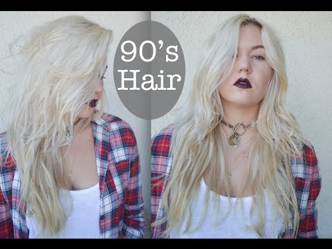 90s Grunge Hair Style YouTube