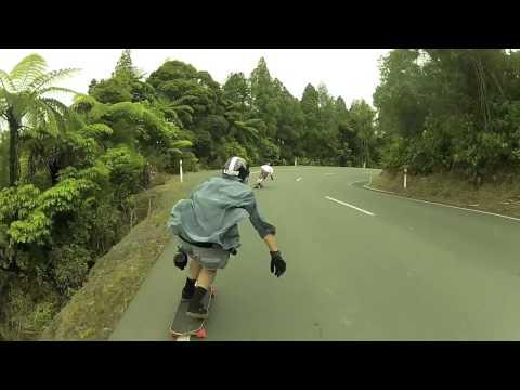 Longboarding Mangamuka's 2012