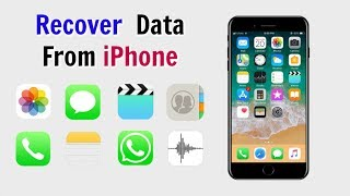 How To Recover Deleted Data From iPhone iOS 12/iOS 11 Without Backup