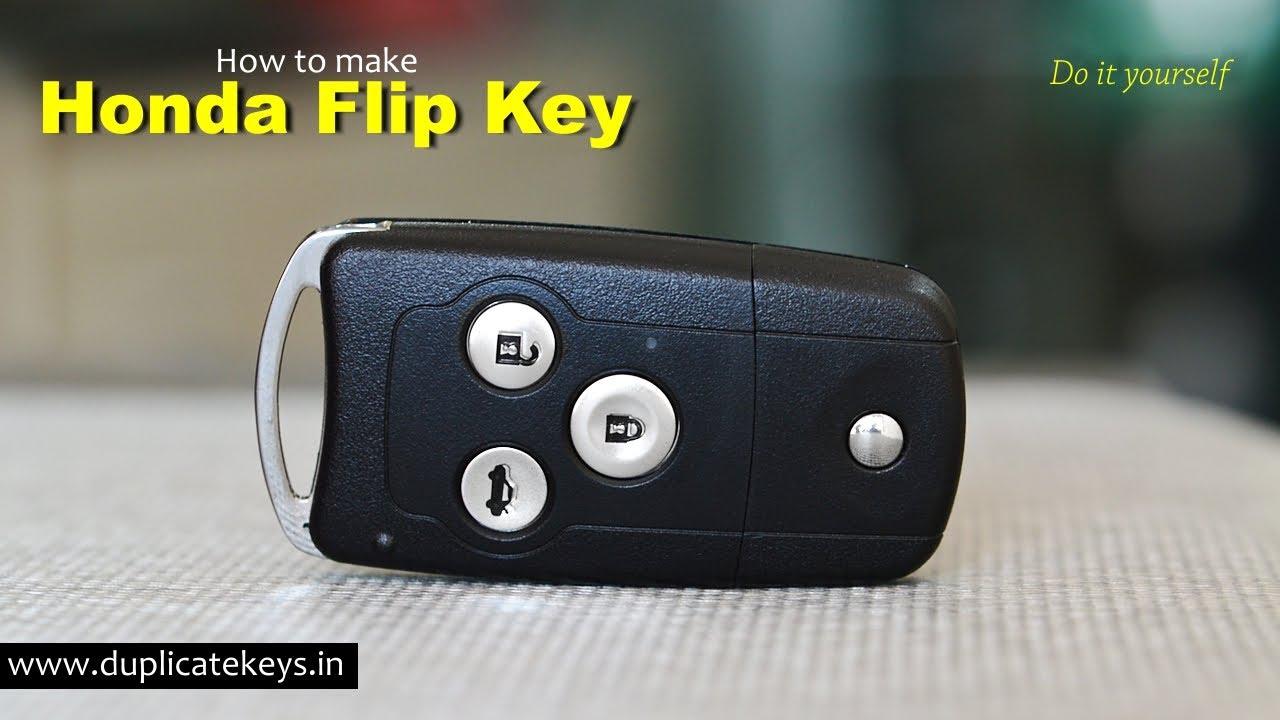 Honda Accord V >> Honda Flip Key (www.flipkeys.in) - YouTube