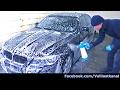 AUTO WASCHEN IM WINTER - SNOW FOAM in SB Waschbox / Autowäsche Tipps - Quick & Safe Winter Car Wash