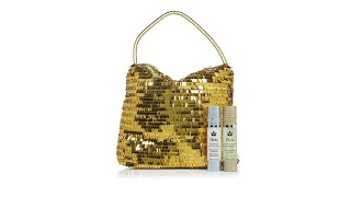 PRAI Gold   Platinum Holiday Duo with Golden Tote