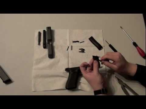 Glock 22 Gen4 .40 S&W, detail strip - disassembly - reassembly