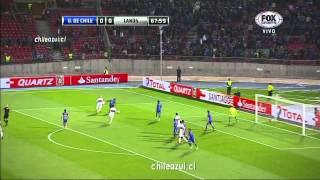 U De Chile 1 vs Lanus 0 - Copa Sudamericana 2013 (Fox Sports HD)