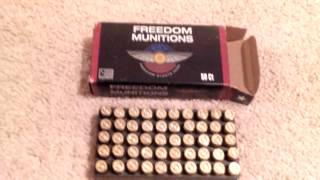 Freedom Munitions 9MM-Remanufactured Ammo