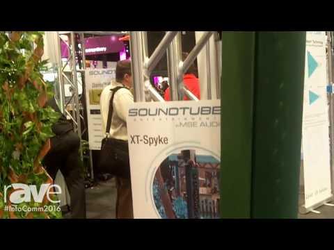 InfoComm 2016: MSE Audio Exhibits XT-Spyke Outdoor Line Array