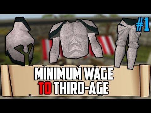 Runescape: Minimum Wage To Third-Age – Episode 1