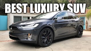 5 Reasons The Tesla Model X Is The Best Luxury SUV