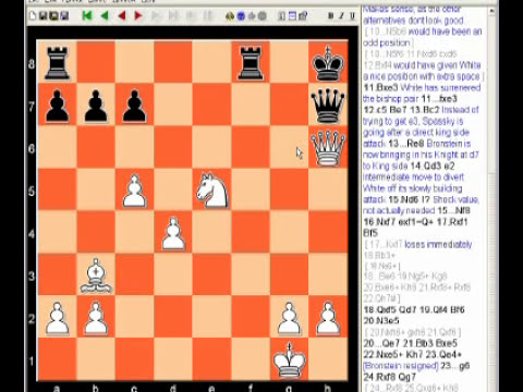 Spassky - Bronstein Chess Video (Tamil)