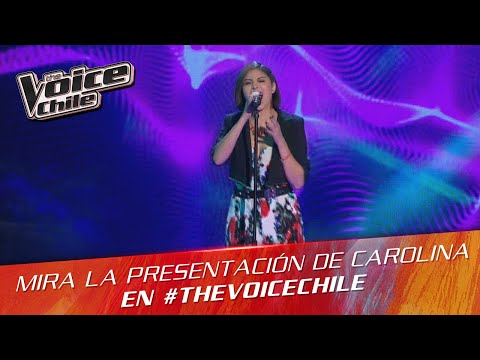 The Voice Chile | Carolina Plaza - Mercy