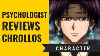 The Psychology behind Chrollo Lucilfer | Psychologist watching