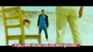 Akshay Kumar Boss Desert Fight Scene