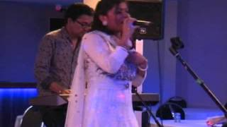 Mamata singing Bangla folk song in Coventry Eid Melody 2014