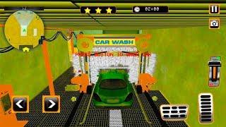 Car Services Simulator - Car Repairing & Washing - Android Gameplay