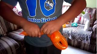 Cómo hacer un pato con globos | how to make a duck balloon twist | globoflexia | balloon twist
