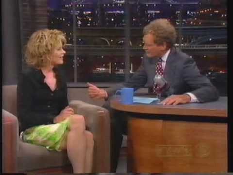 Meg Ryan on Letterman 1996 part 1
