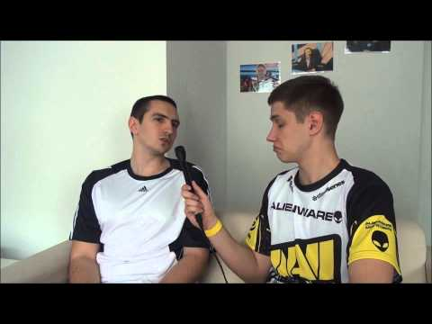 Interview with Dimaga @ WCS Europe Playoffs