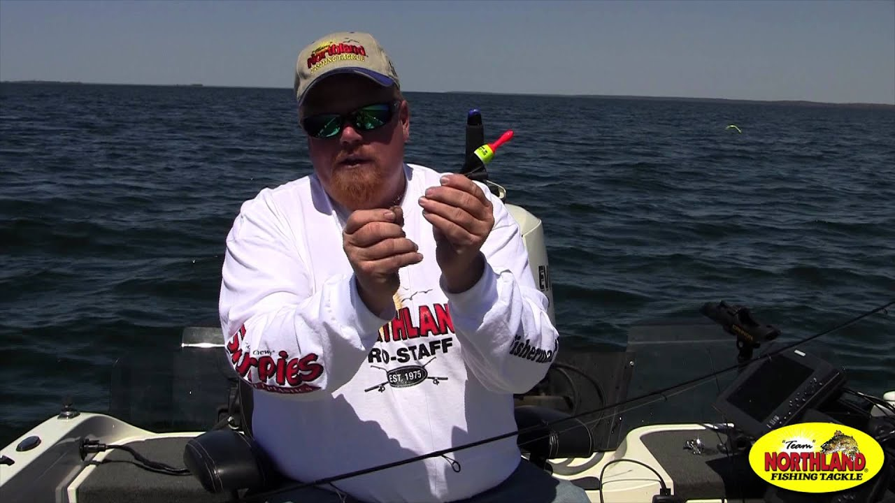 Brian brosdahl northland fishing tackle slip bobber tip for Brian s fishing supply