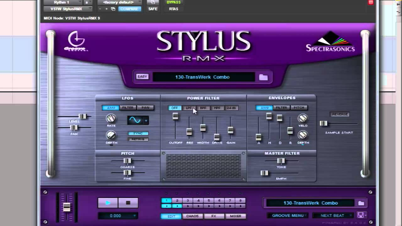 Spectrasonics stylus rmx vsti keygen free download
