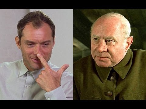 Jude Law on Bob Hoskins' latex nose trick