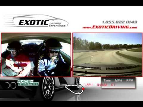 Exotic Driving Experience - Walt Disney World 2/1/13, Nissan GTR