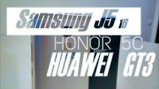 Cравнение Huawei Honor 5c vs Samsung J5 2016  Многоликий китаец лучше корейца Huawei vs Samsung
