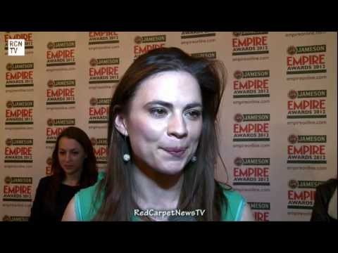 Hayley Atwell Interview - The Sweeney - Empire Awards 2012