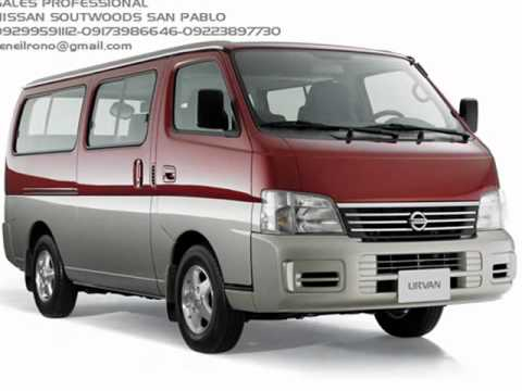Nissan Urvan and Estate Commercial Philippines 2012