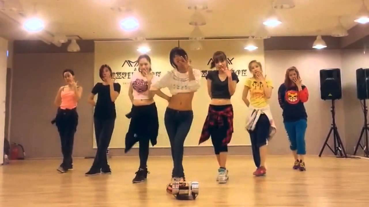 Rainbow - Tell Me Tell Me mirrored Dance Practice - YouTube