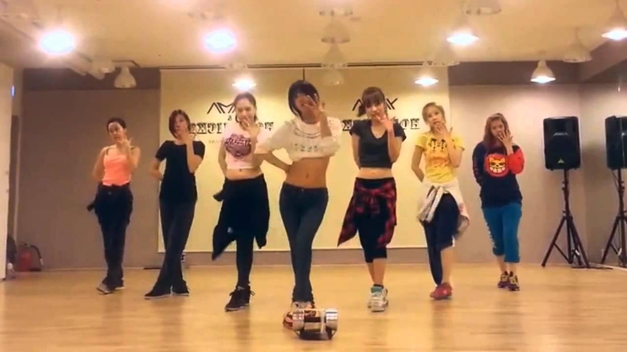 Rainbow - Tell Me Tell Me mirrored Dance Practice - YouTube