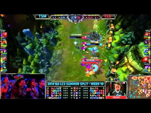 Best Moments of NA LCS 2014 Summer Week 10 klip izle