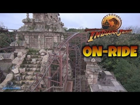 Indiana Jones Et Le Temple Du Péril Coaster On-ride (Complete HD Experience) Disneyland Paris