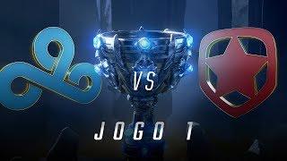 Mundial 2018: Cloud9 x Gambit (Jogo 1) | Fase de Entrada - Eliminatórias - Dia 1