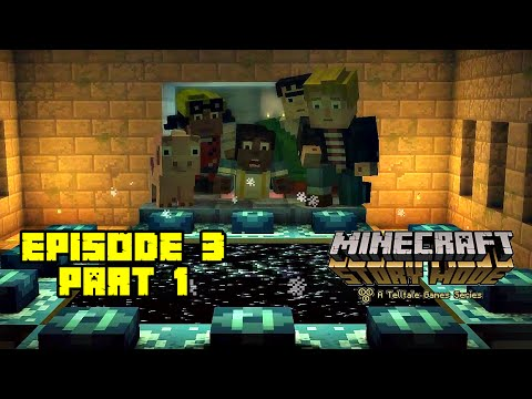 Minecraft Story Mode (Tagalog) | INTO THE END WORLD! | Episode 3 Part 1