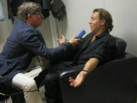 Roberto Alagna   INTERVIEW Radio   1/2  EUROPE 1 30/07/2015   IL TROVATORE Orange