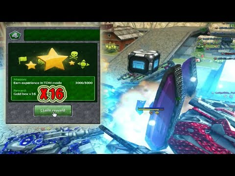 Tanki Online A Black Gold Box + Christmas Special Танки Онлайн