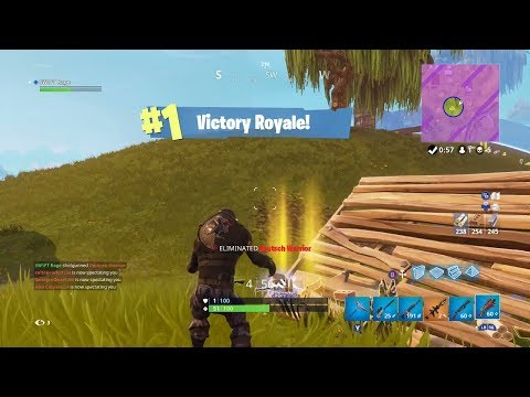 I Won a Game of FORTNITE WITHOUT using Thanos!