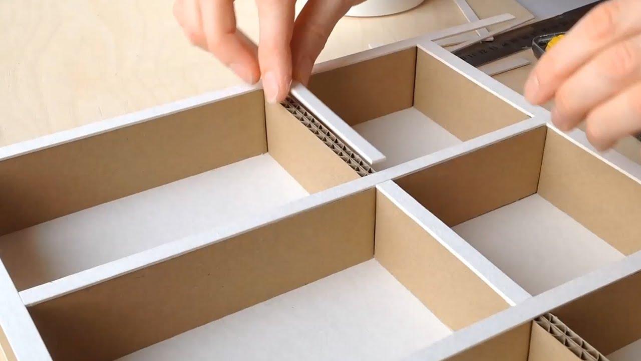 Как сделать коробку для шкафа своими руками