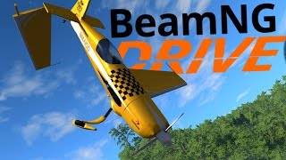 BeamNG Drive Gameplay - Awesome Scenarios! - High Speed Crashes & Stunt Plane Flying