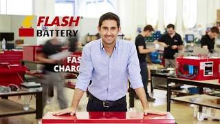 Kaitek Flash Battery - Lithum Batteries for industrial machines and vehicles
