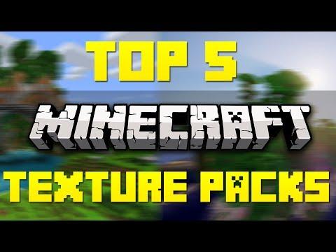 Top 5 Minecraft Resource/Texture Packs [Minecraft 1.7.9]