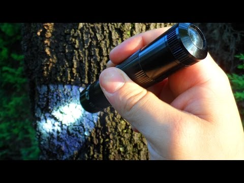 Maglite XL50 200lum.edc light / Field test + Full In Depth review