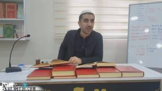 HAFIZ ALİ'NİN DERSTEKİ MÜŞAHEDELERİ VE MİRACI BAR.LAH.185  MURAT DURSUN